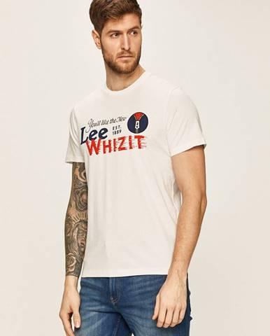 Biele tričko Lee