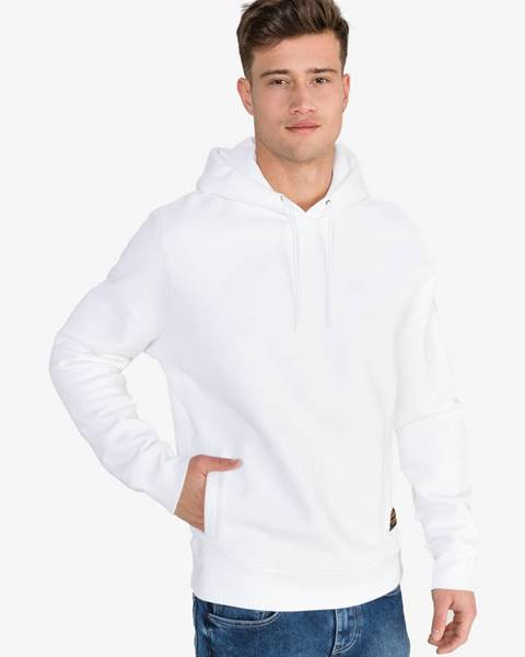 Biela bunda s kapucňou LEVI'S