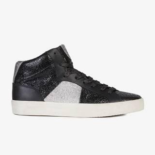 Topánky Geox D Warley Čierna