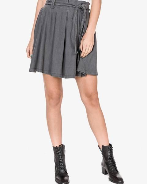 Sivá sukňa Vila