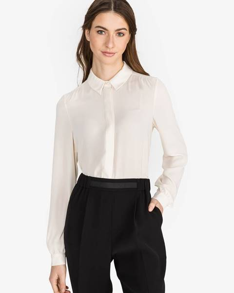 Biela košeľa na gombíky Vero Moda