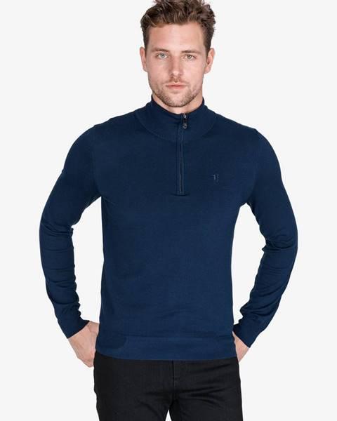 Modrý sveter Trussardi