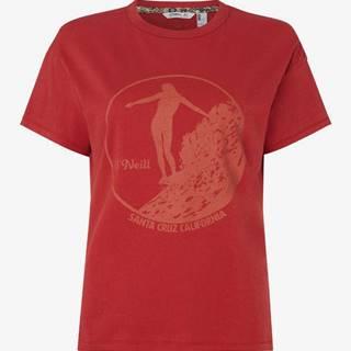 O'Neill Tričko O'Neill Lw Olympia T-Shirt Červená