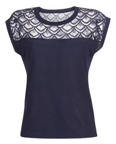 Modré tričko Only