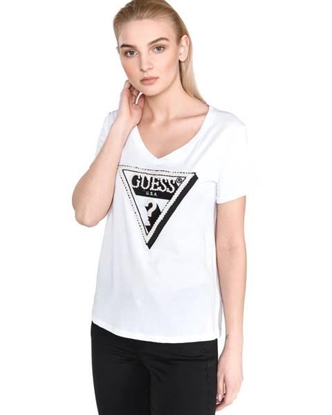 Biele tričko Guess