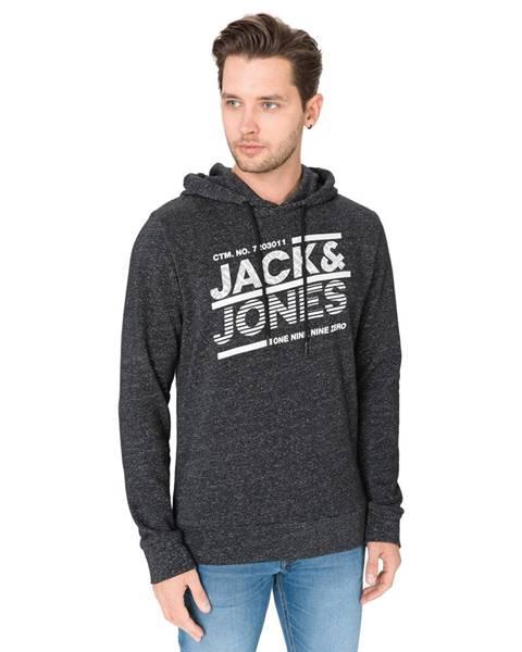 Čierna bunda s kapucňou Jack & Jones
