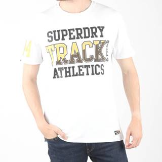 SuperDry Tričko Biela