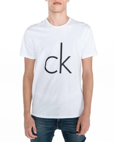 Biele tričko Calvin Klein