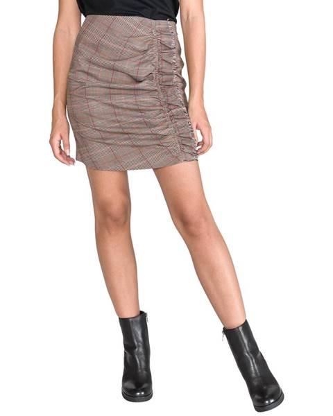 Hnedá sukňa Pepe jeans