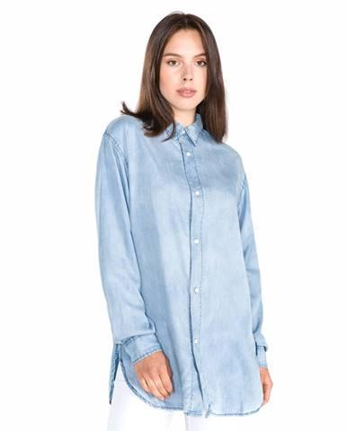 Modrá košeľa Replay