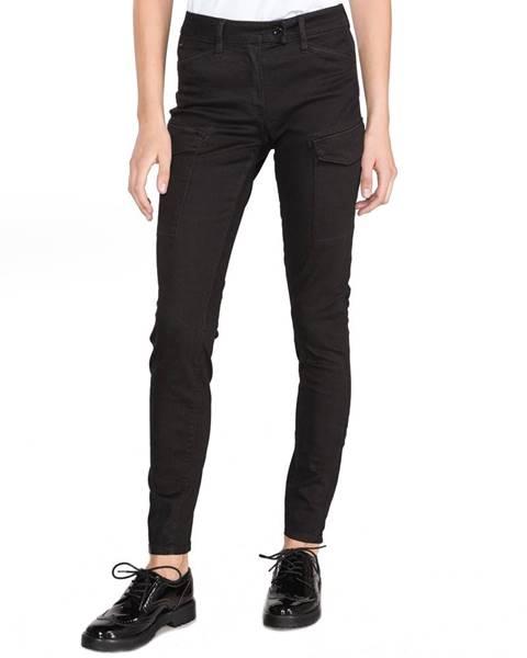 Čierne skinny nohavice G-Star Raw