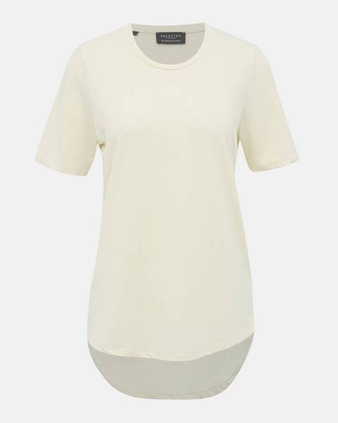 Krémové tričko Selected Femme