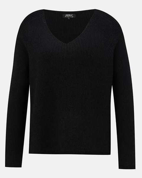 Only  Čierny basic sveter ONLY Mischa