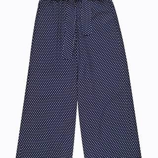 Bodkované nohavice culotte