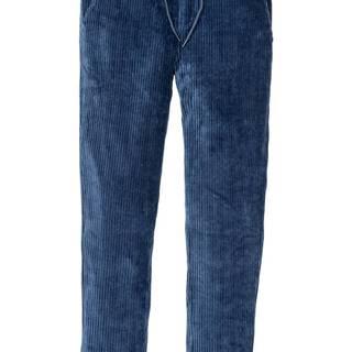bonprix Voľné nohavice, kordový vzhľad, Regular Fit, Tapered