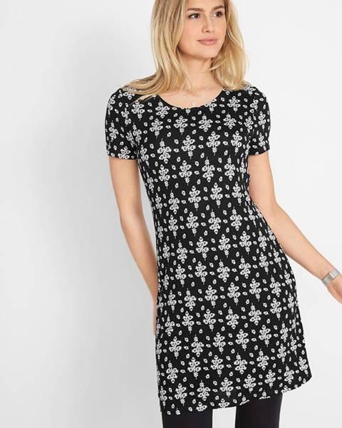bonprix Krátke úpletové šaty