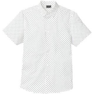 Košeľa, krátky rukáv, potlač po celom povrchu, Slim Fit