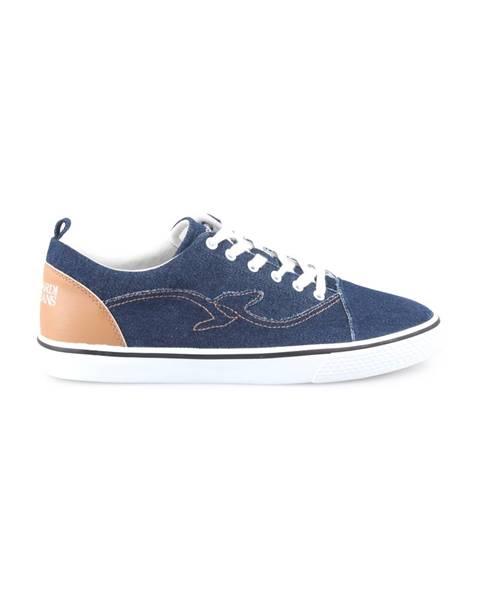 Modré tenisky Trussardi Jeans