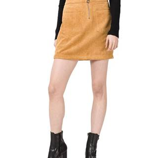 Cordatine Sukňa Žltá Oranžová