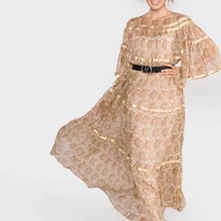 Šaty TWINSET Béžová