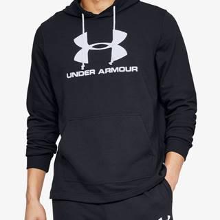 Under Armour  Mikina  Sportstyle Terry Logo Hoodie-Blk Čierna