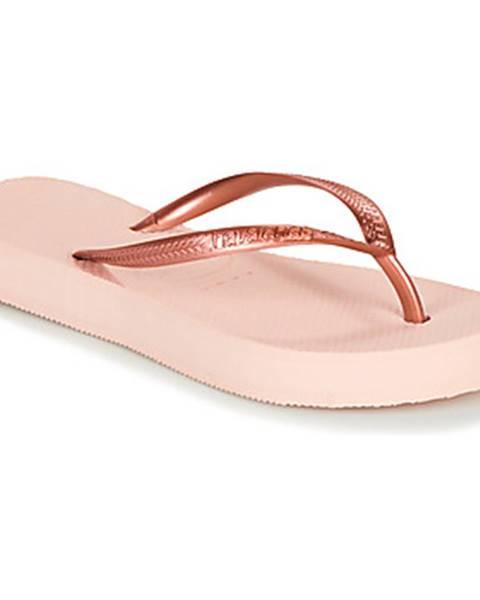 Ružové sandále Havaianas