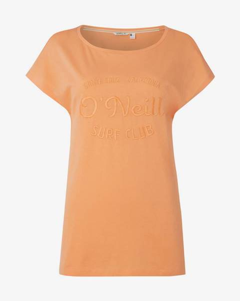 Oranžové tričko O' Neill