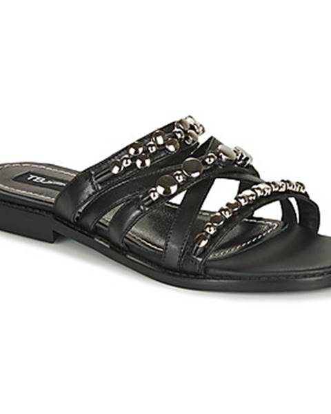 Čierne sandále Tosca Blu