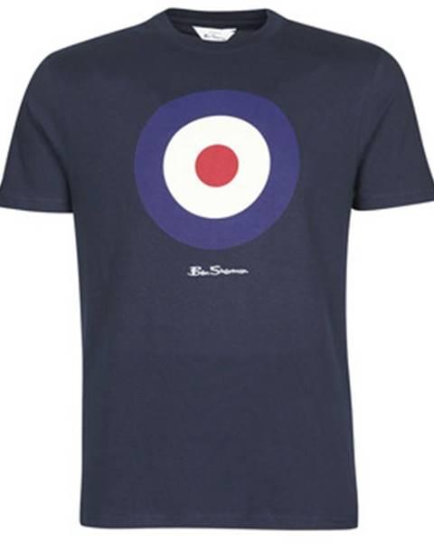 Modré tričko Ben Sherman