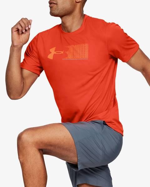Oranžové tričko Under Armour