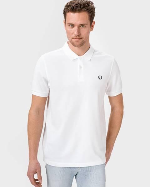 Biele tričko Fred Perry