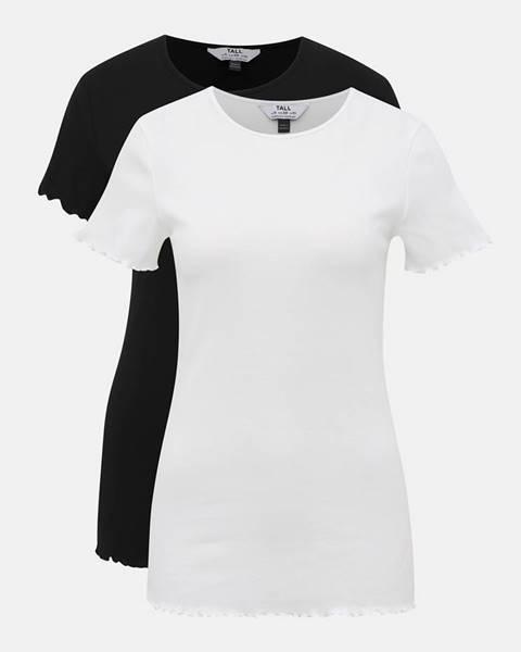Biele tričko Dorothy Perkins Tall