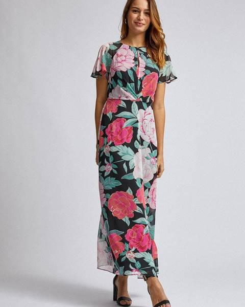 Ružové maxišaty Dorothy Perkins