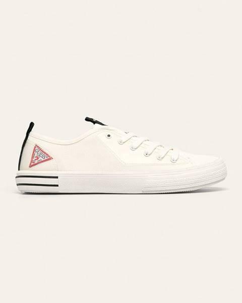 Biele tenisky Guess Jeans