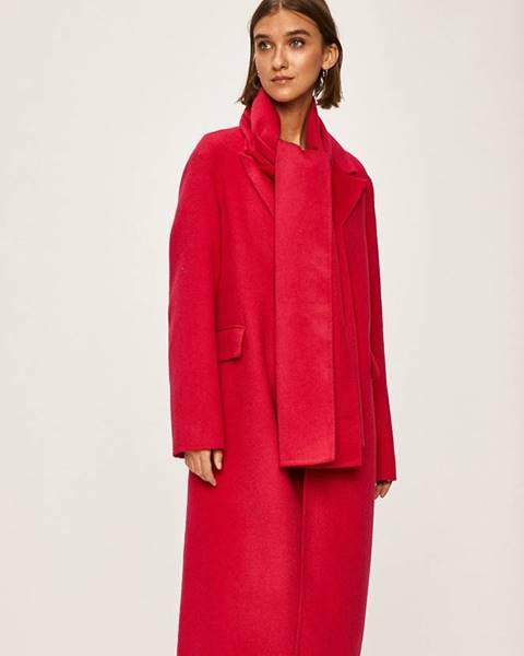 Ružový kabát Tommy Hilfiger