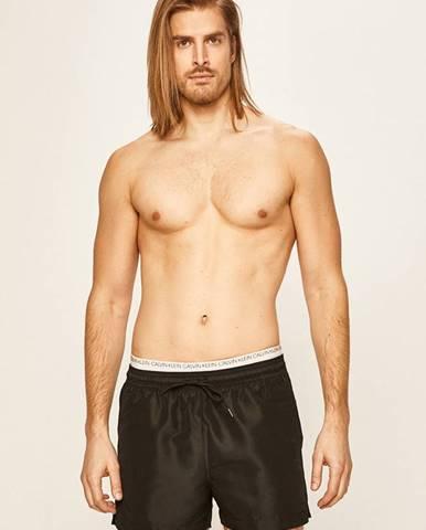 Čierne plavky Calvin Klein Jeans
