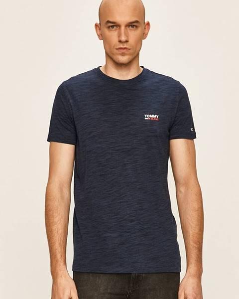Tmavomodré tričko Tommy Jeans