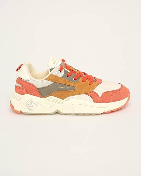 Oranžové topánky Gant
