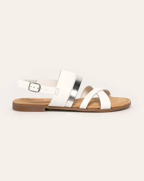 Biele sandále S.Oliver