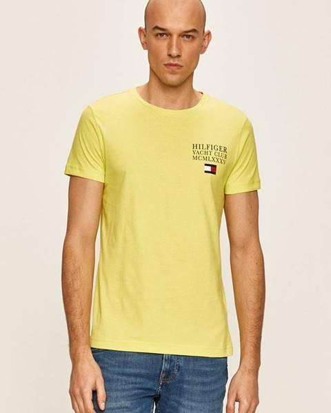 Zelené tričko Tommy Hilfiger