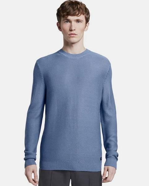 Modrá mikina Tom Tailor Denim
