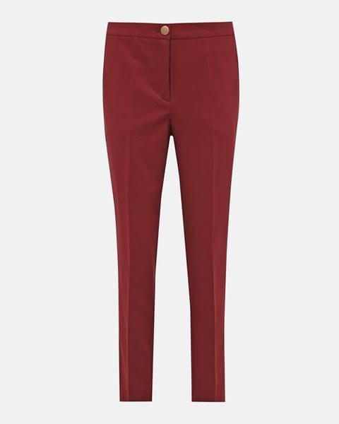 Tehlové nohavice Vero Moda