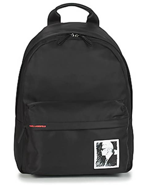Čierny batoh Karl Lagerfeld