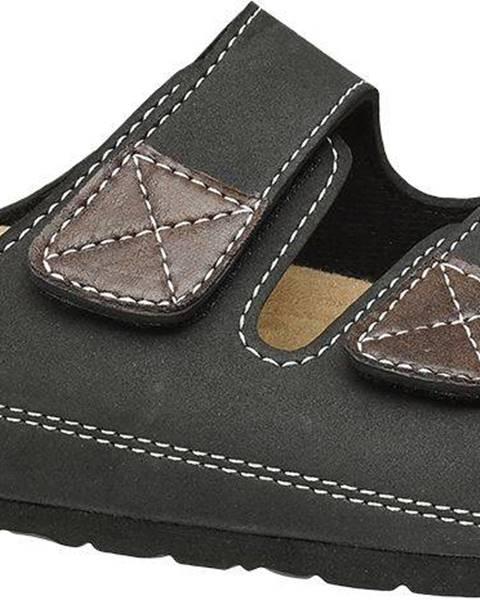 Čierne sandále Björndal