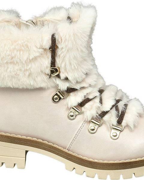 Béžové členková obuv Graceland