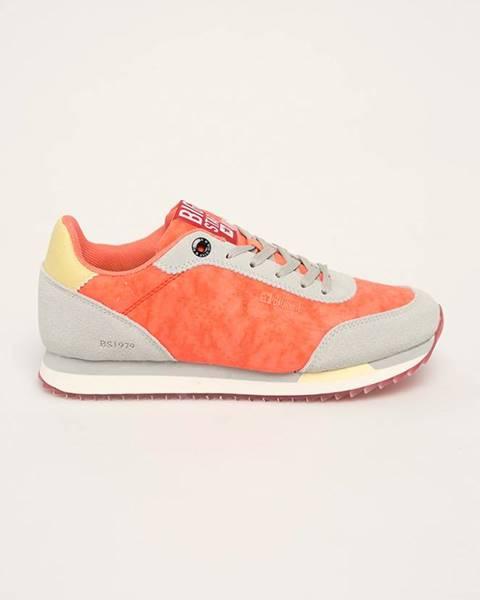 Oranžové topánky Big Star