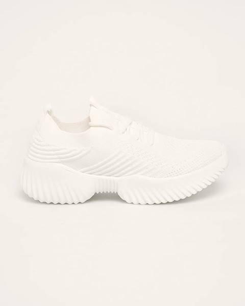 Biele topánky Cross Jeans