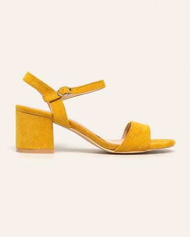 Žlté lodičky Answear