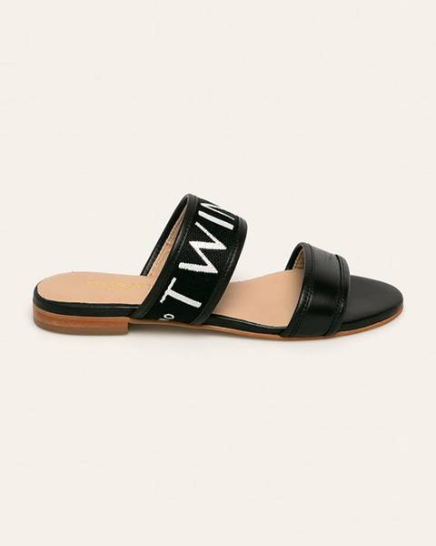 Čierne sandále Twinset