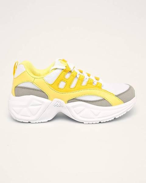 Žlté topánky Kappa